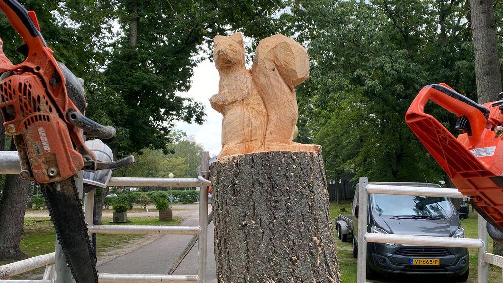 Rik maakt van bomen kunstwerken