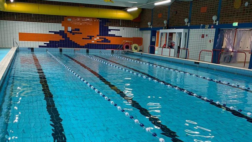 Nieuwe vloer De Lubert; zwembad drie weken gesloten