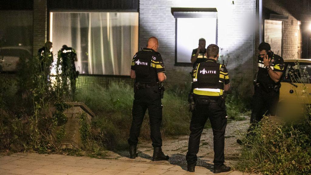 Huis in Arnhem vermoedelijk beschoten