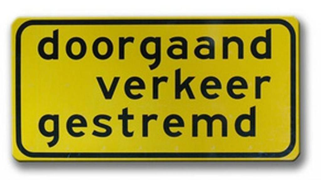 Aanpassingen middengeleider Rondweg-Oost Veenendaal