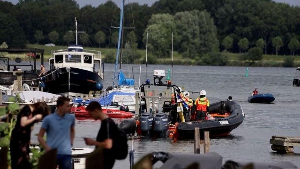 De hulpdiensten rukten zaterdag massaal uit.  Foto: News United