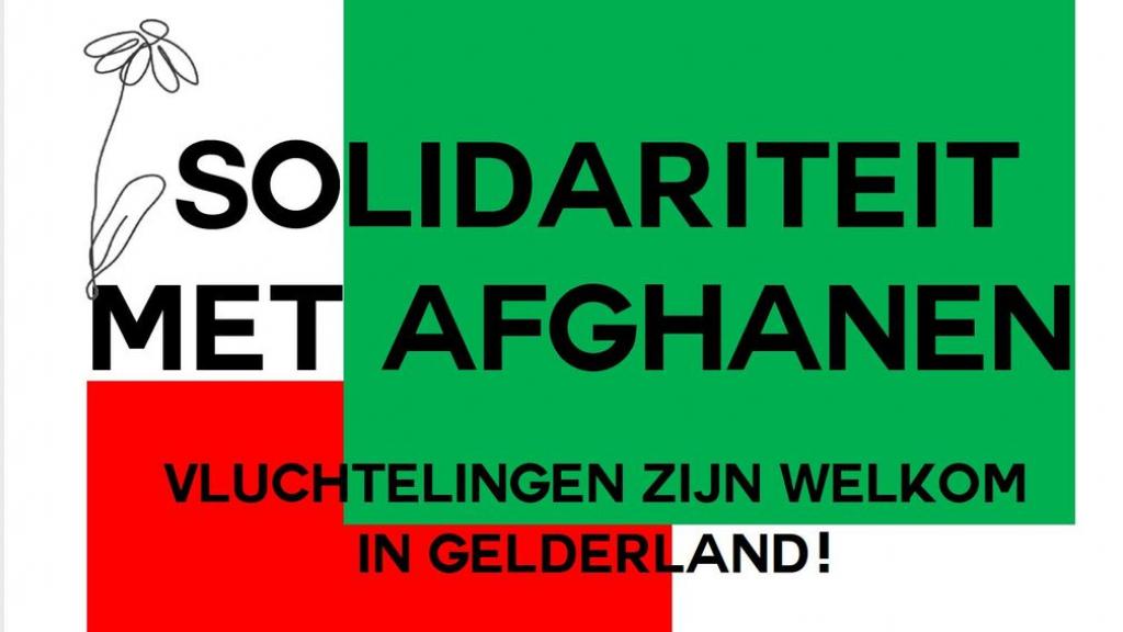 Solidarityposter Foto: Solidariteitsactie Afghanen