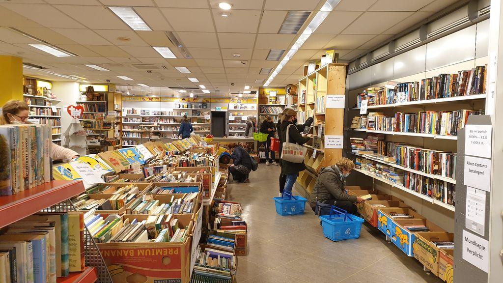 Pop-up boekenmarkt in Barneveld