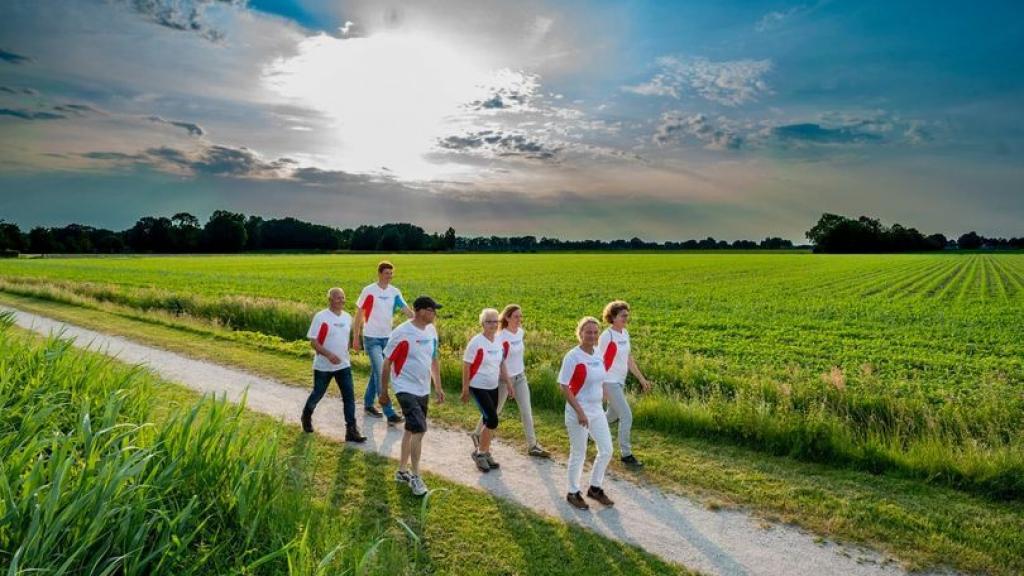 Wandelchallenge Foto: Facebookpagina Gemeente Rhenen / Ronald Hoogendoorn