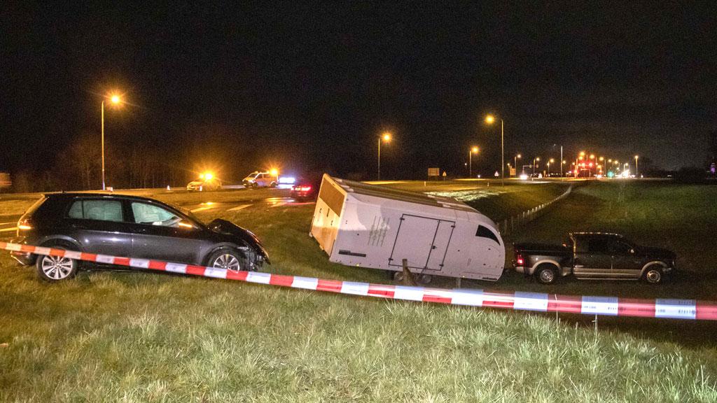 Ernstig ongeval op Ellecomsedijk in Ellecom
