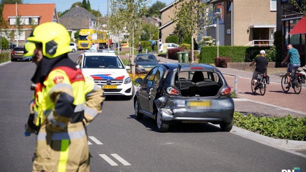 Botsing van twee oudere automobilisten in Groesbeek