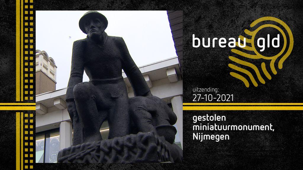 Bronzen beeld van Jac Maris gestolen tijdens tentoonstelling