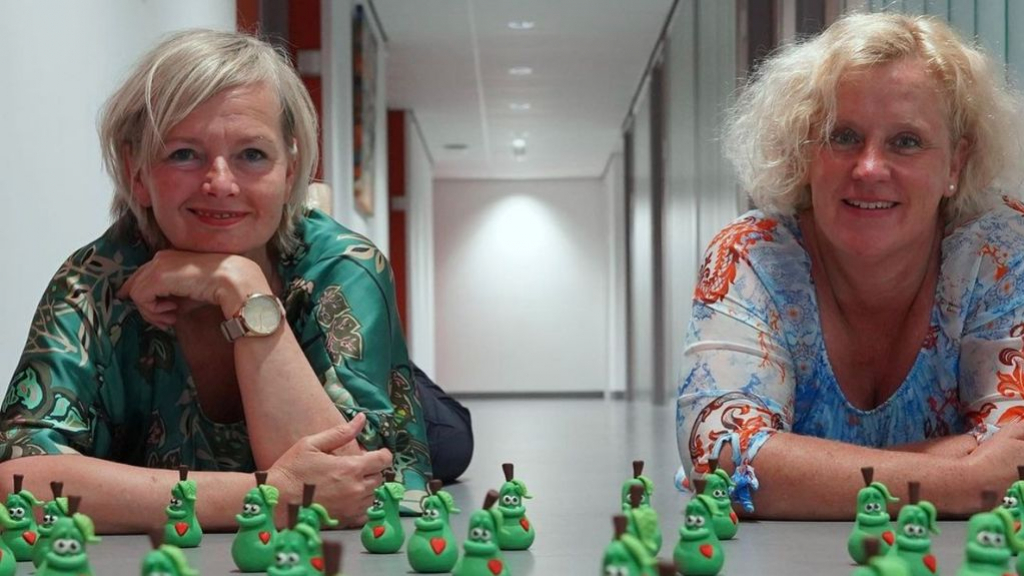 Anja van 't Klooster en Folienke Morren Foto: St Jansdal