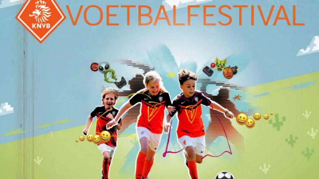 2e Paasdag: Voetbalfestival in Veenendaal