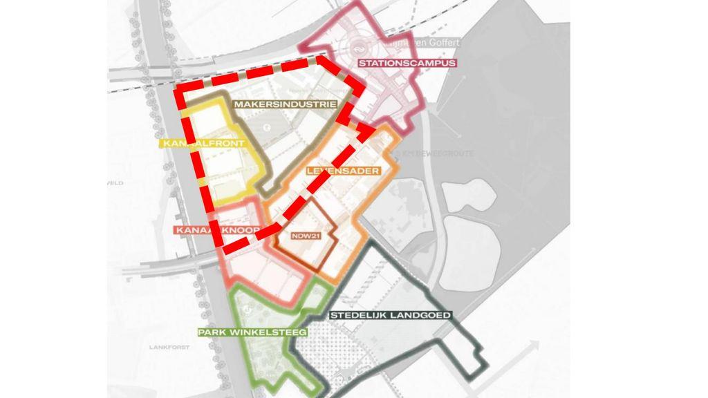 Plannen mengen woningen en bedrijven Winkelsteeg-Noord houden gemoederen bezig