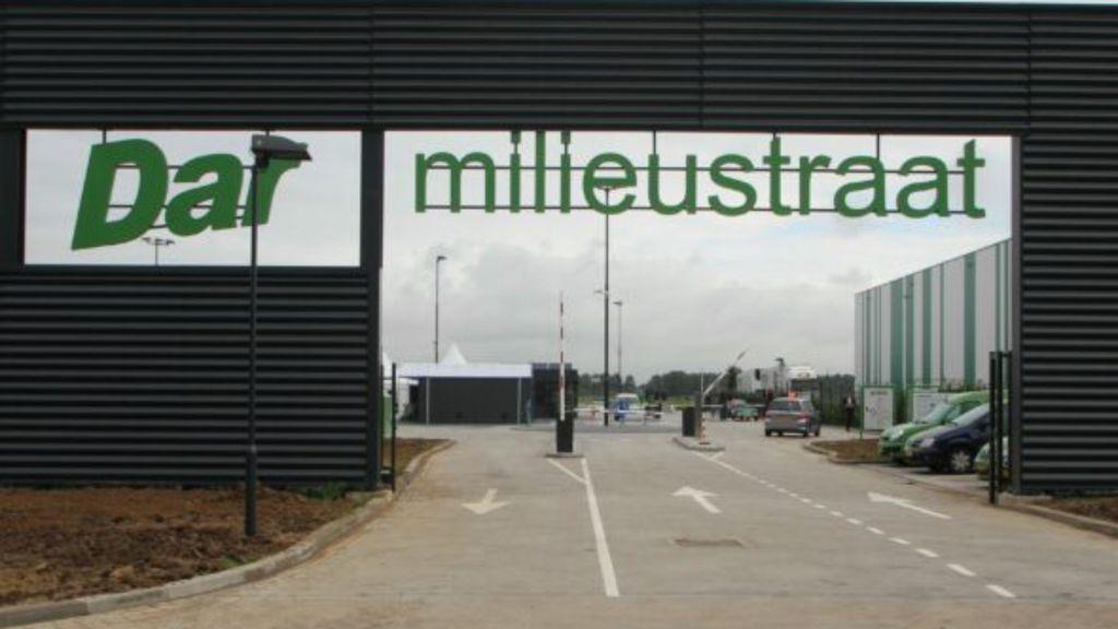 Milieustraat Bijsterhuizen voortaan gesloten op donderdag Foto: DAR Wijchen