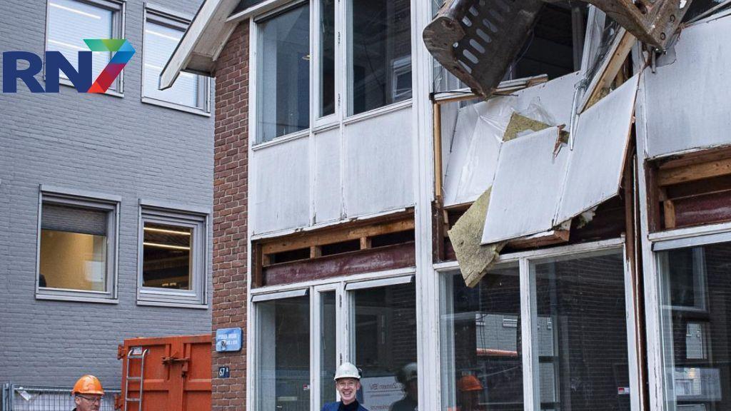Tijdelijk onderkomen gemeente Overbetuwe gesloopt