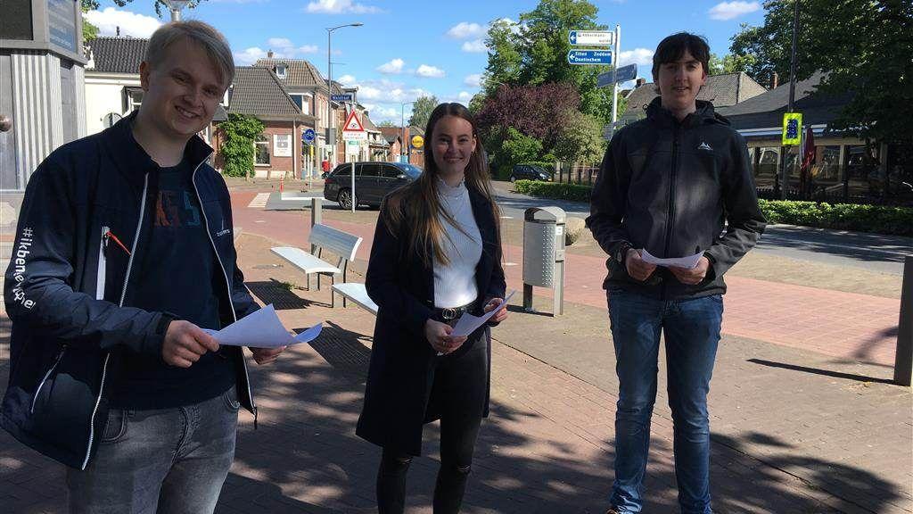 Jongeren bedenken veilig kruispunt in Terborg