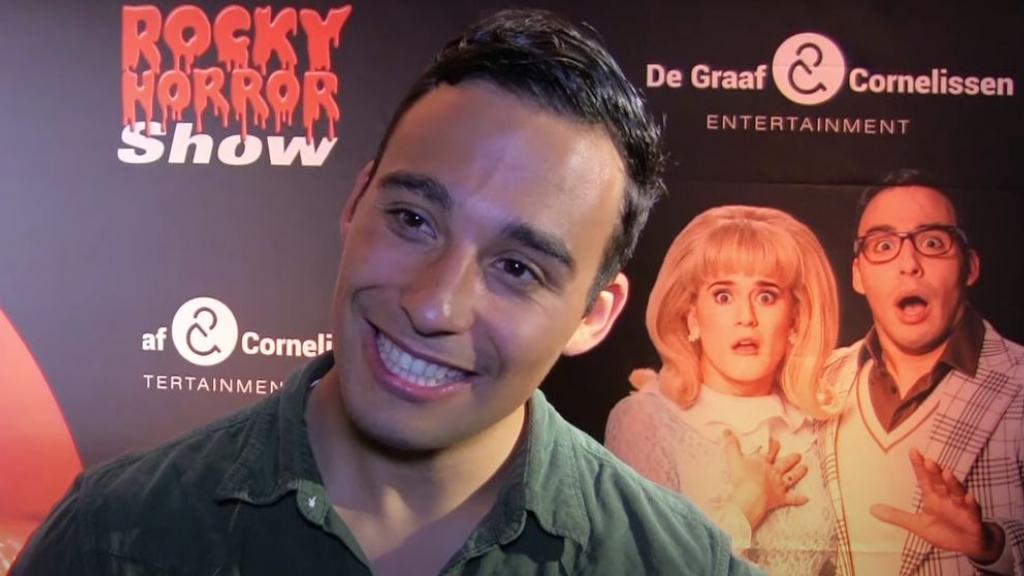 Acteur Samir Hassan met Rocky Horror Show in Arnhem