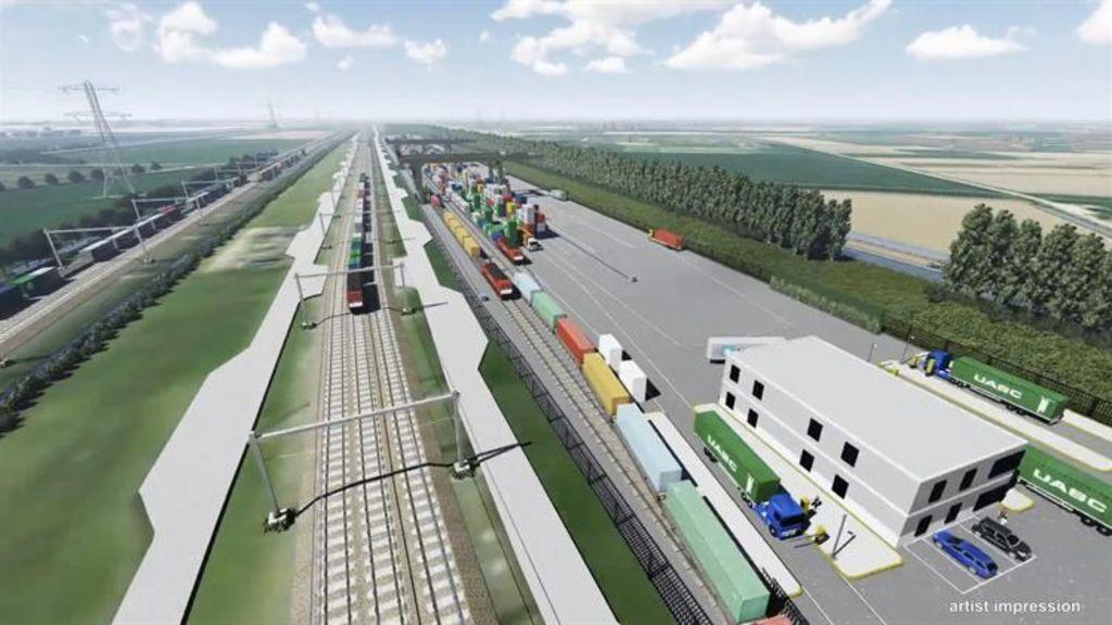 Impressie van Railterminal Gelderland Foto: Railterminal Gelderland