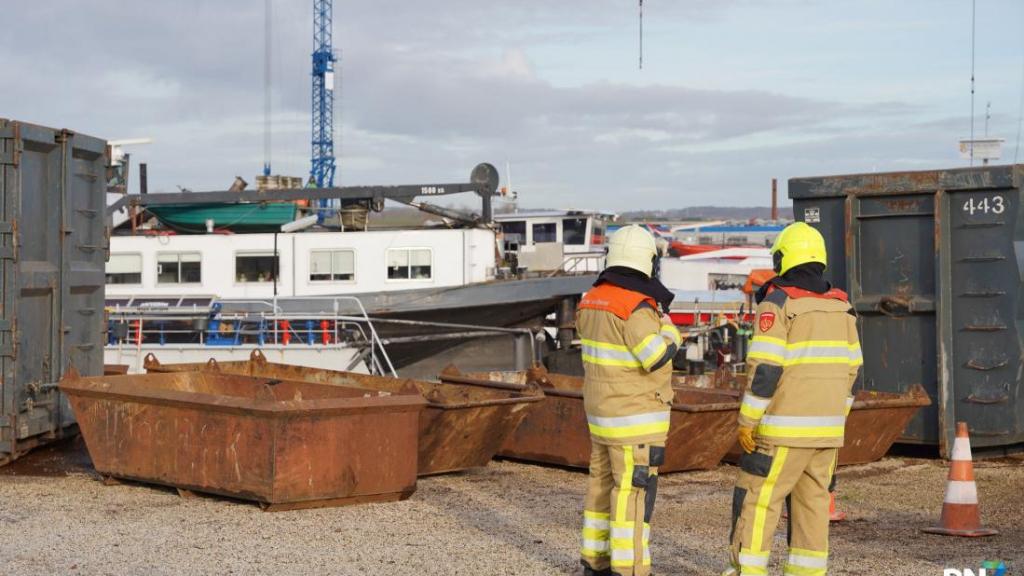 Brand op binnenvaartschip snel geblust