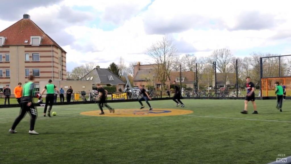 Streetwise-cup voetbal in Scherpenzeel