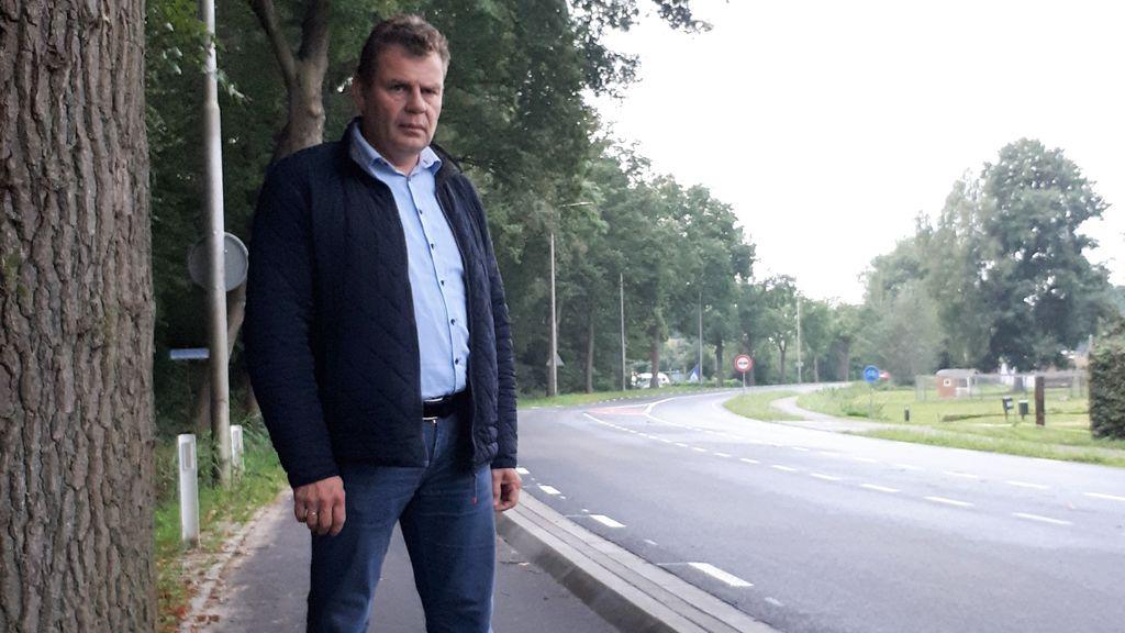 Zorgen om onveilige situatie aan de Harderwijkerweg in Hulshorst