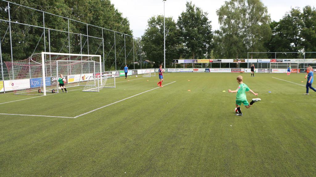 Tal van voetbalspelletjes bij vv Hulshorst
