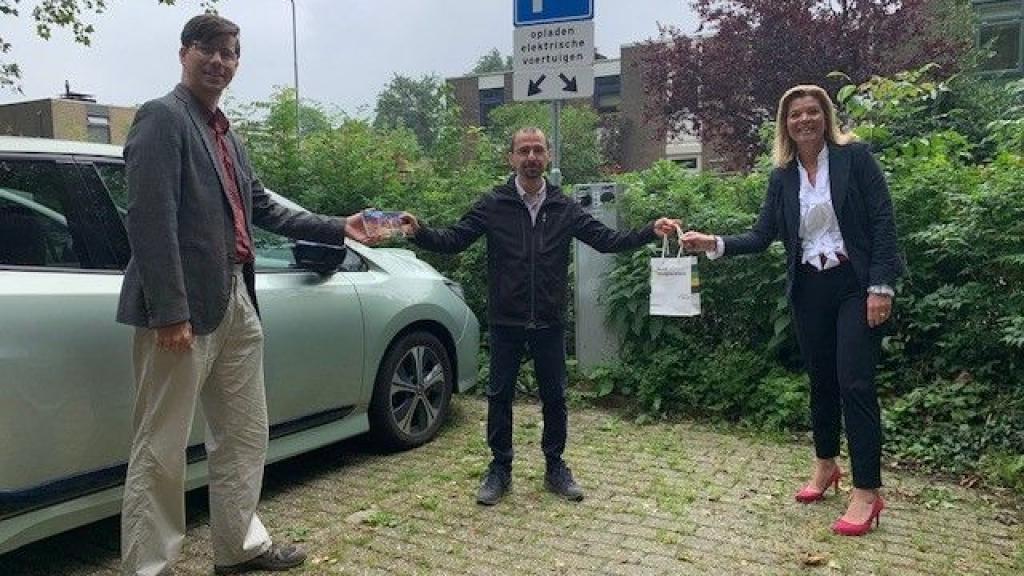 1200ste laadpaal staat in Wageningen