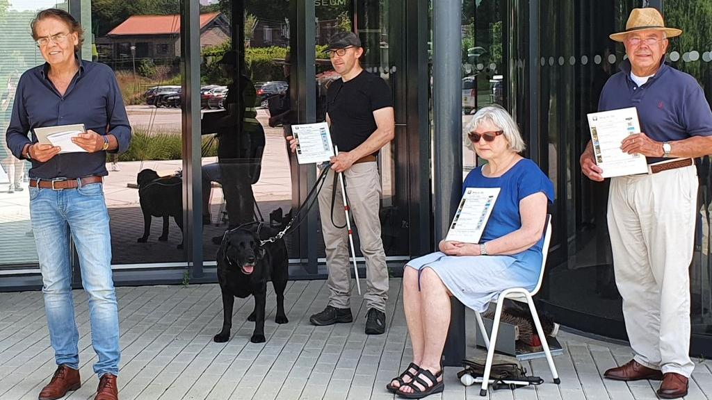 Ook een zorgeloze vakantie voor blinden en slechtzienden in Berg en Dal
