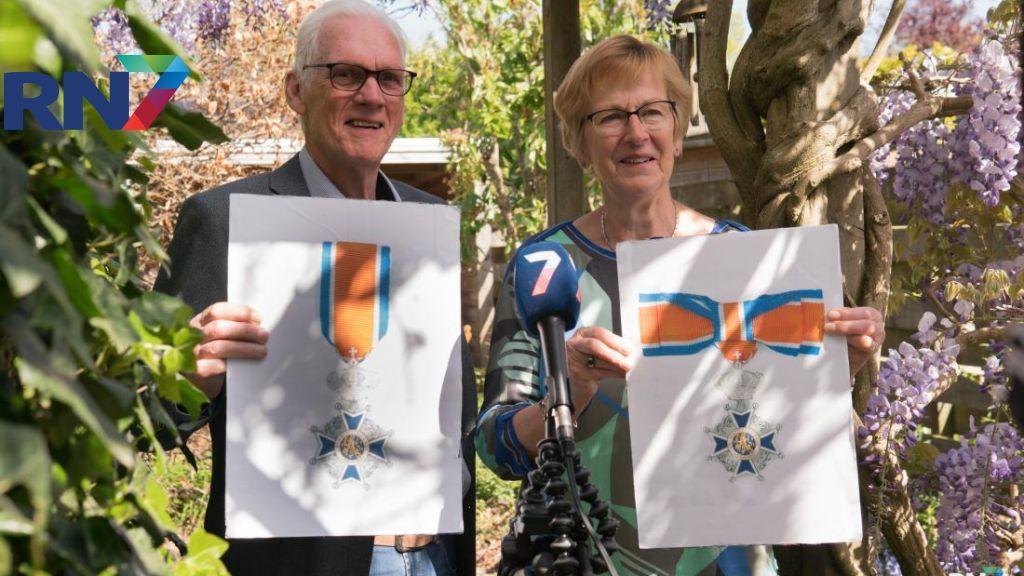 Echtpaar Spaan uit Beuningen krijgt beide Koninklijke Onderscheiding