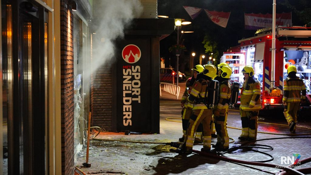 Flinke rookschade na winkelbrand in Wijchen
