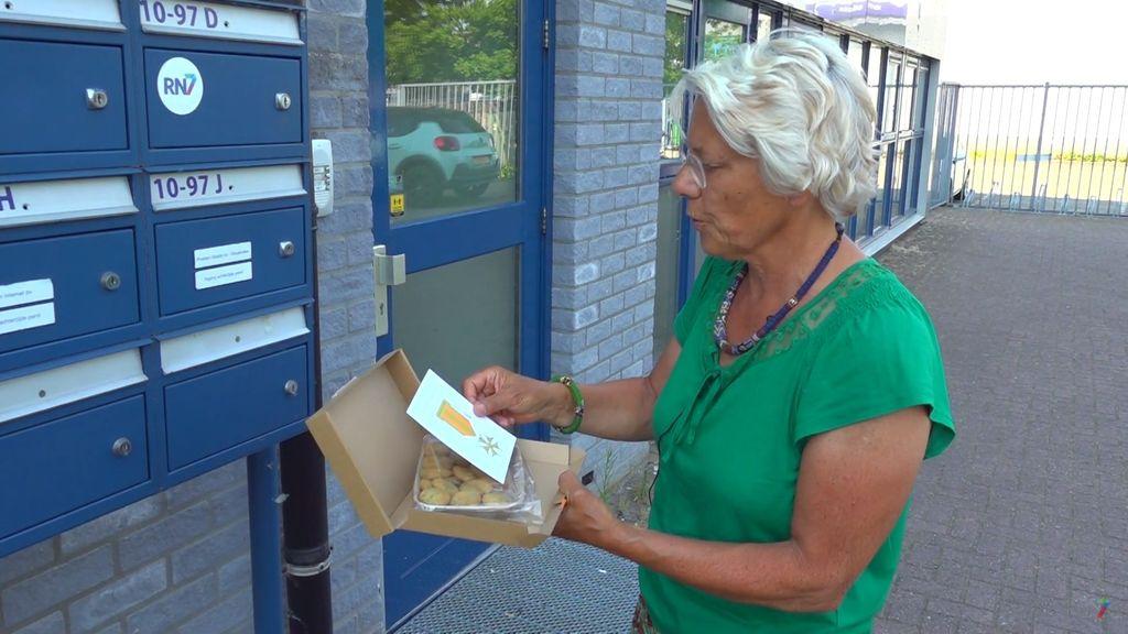 Koekjes in de brievenbus Foto: RN7