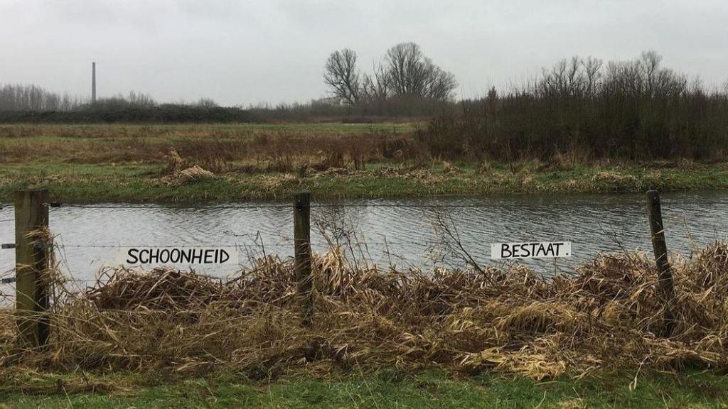 Bericht langs de dijk: nieuwe KunstKruimel door Waterlanders en Ivanka de Ruijter