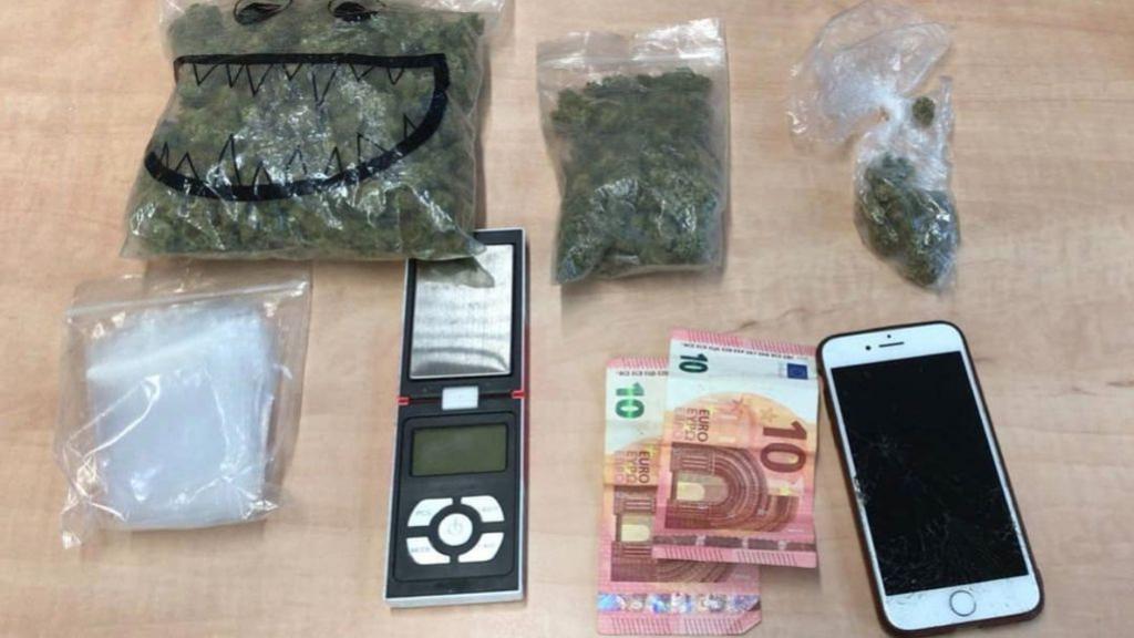 16-jarige opgepakt voor het handelen in drugs