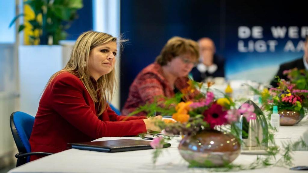 Koningin Máxima bezoekt regio Gelderse Vallei in het kader van de arbeidsmarkt