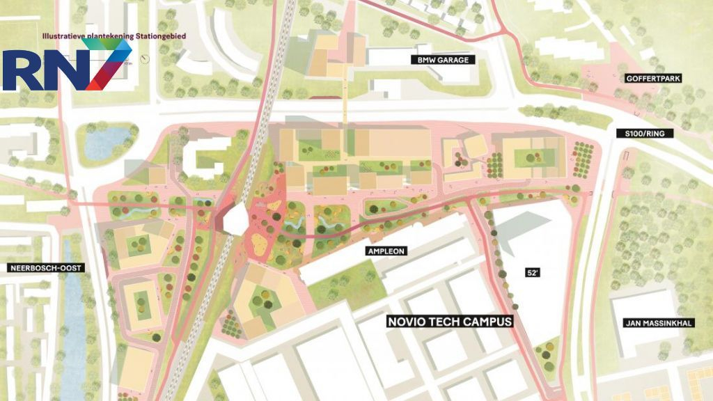 College: gebied station Nijmegen-Goffert 'sterk verdichten' met woningbouw, smart industry en commerciële functies