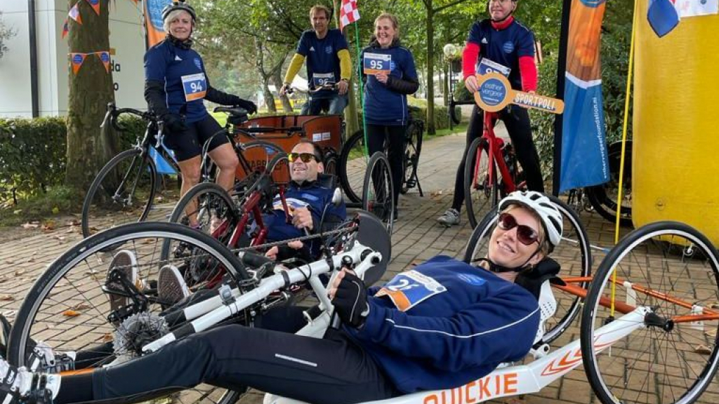 Esther Vergeer opent samen met Paralympische medaillewinnaar Bo Kramer Sportpoli in Emma Kinderziekenhuis in Amsterdam