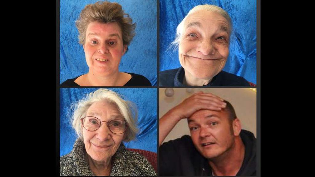 Mooi Uitzicht, een theatergroep met doofblinde acteurs, komt met nieuwe voorstelling