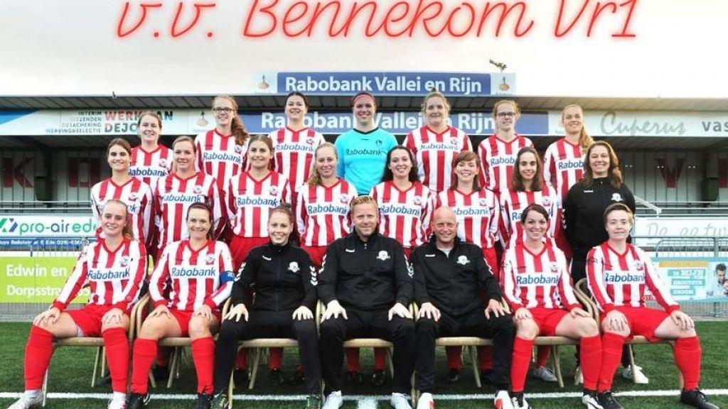 Bennekom verliest in derde klasse vrouwenvoetbal van AZSV