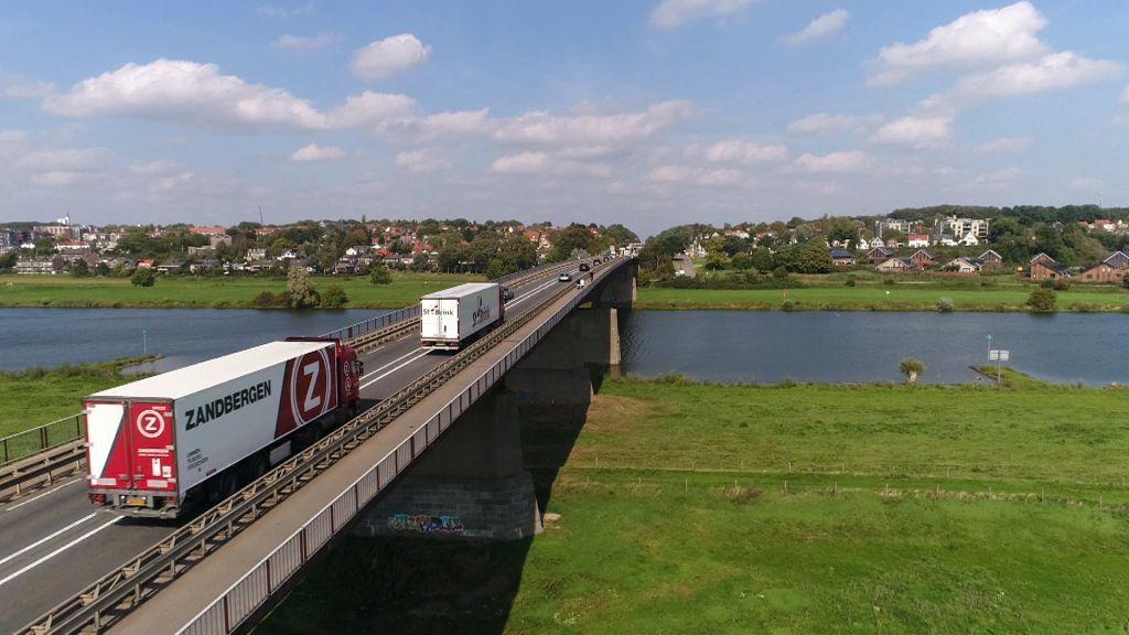 Vertraging voor verbreding Rijnbrug bij Rhenen