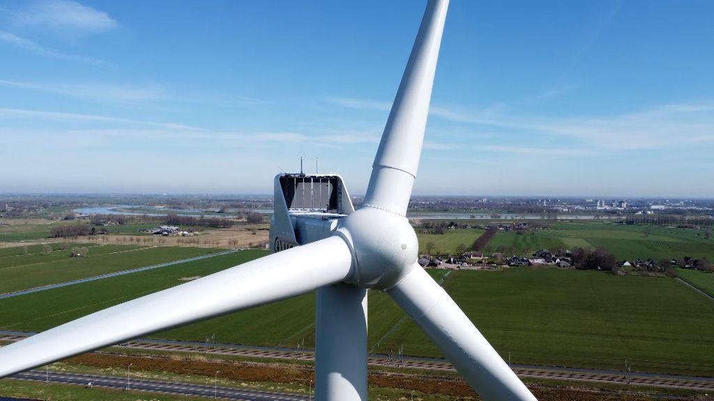 Petitie tegen windmolens; wespendief blokkeert duurzame energie