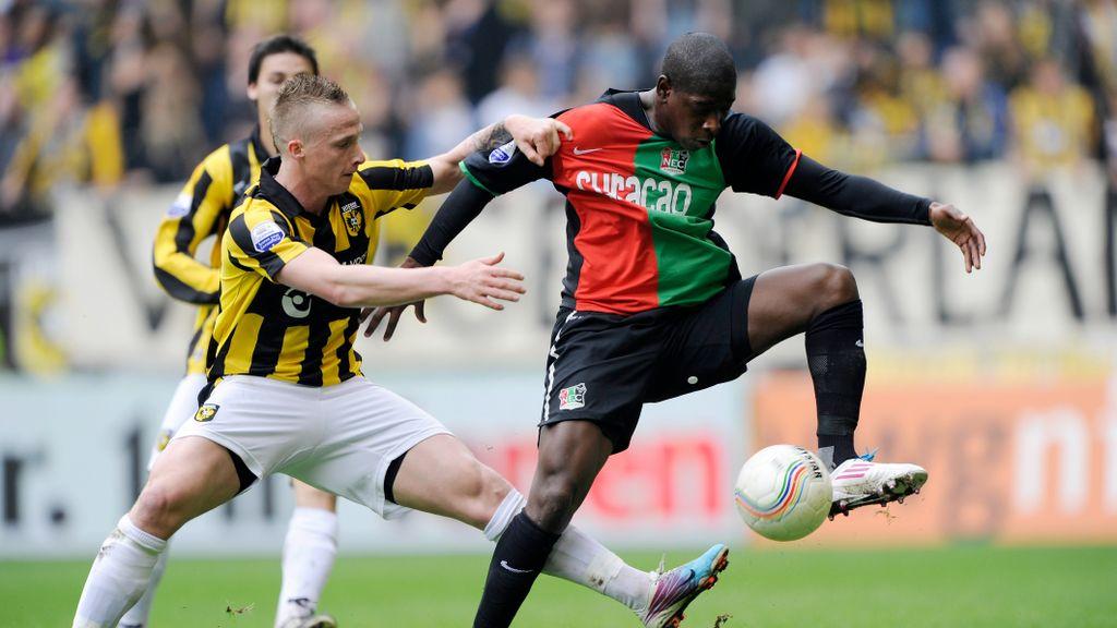 NEC-held Leroy George zet zijn carrière voort bij De Treffers