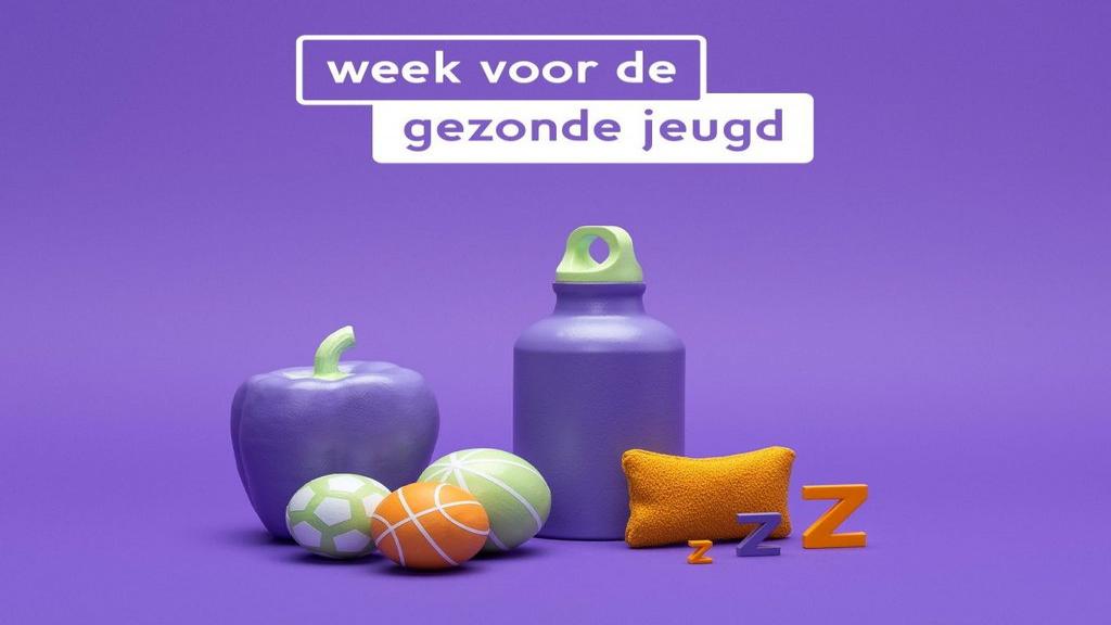 18 - 27 februari Week van de gezonde jeugd, opening door Prof. Erik Schreder