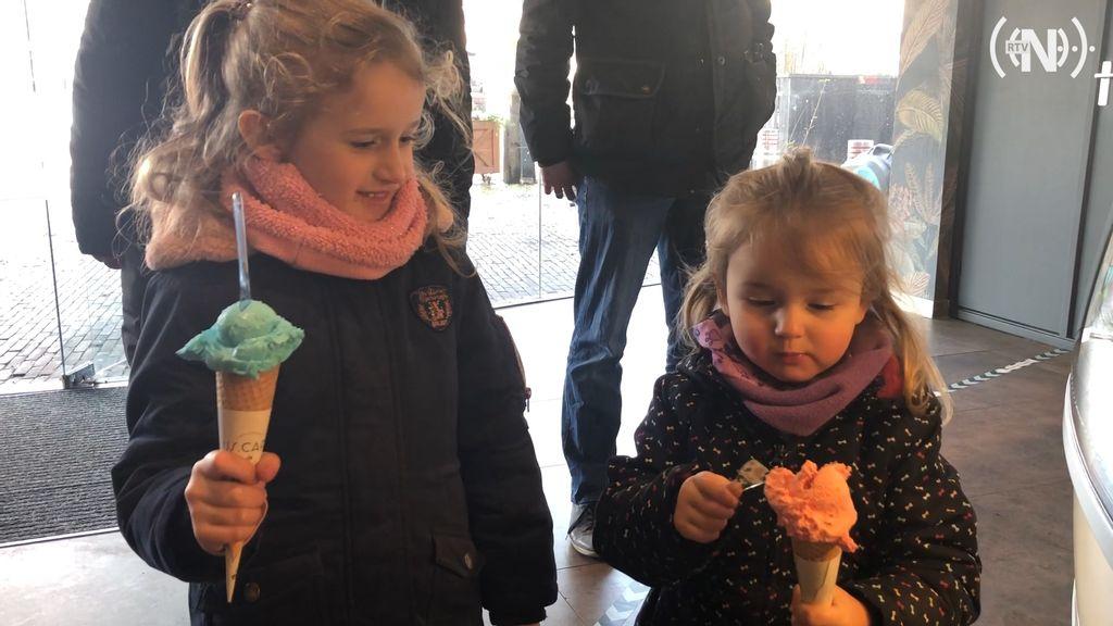 Heerlijk weer voor een ijsje