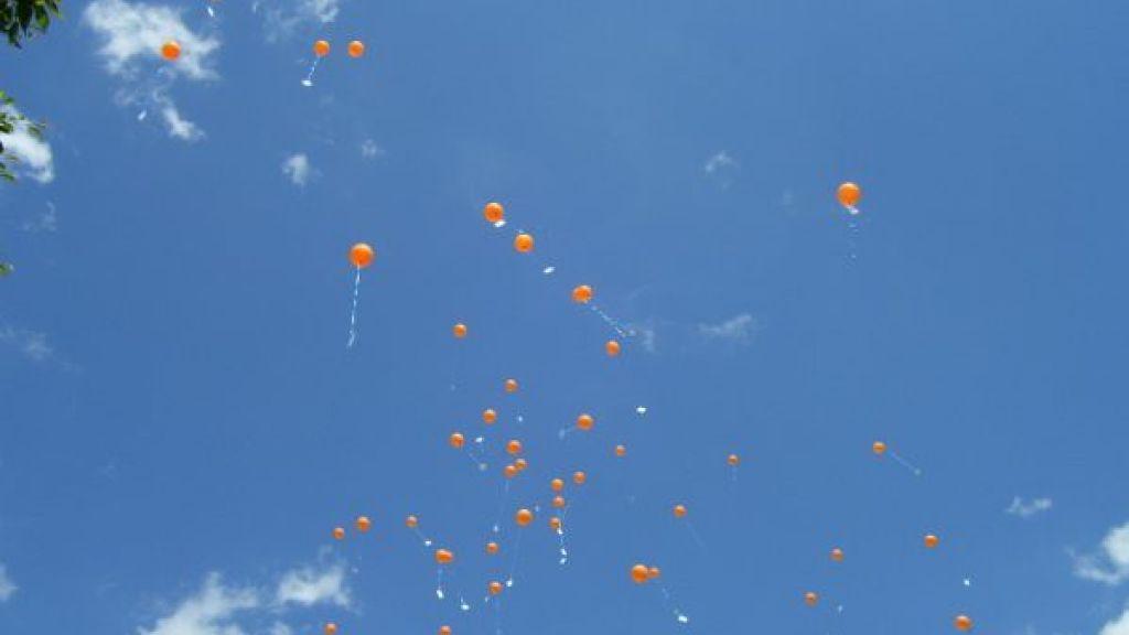 Geen ballonnen meer in Buren