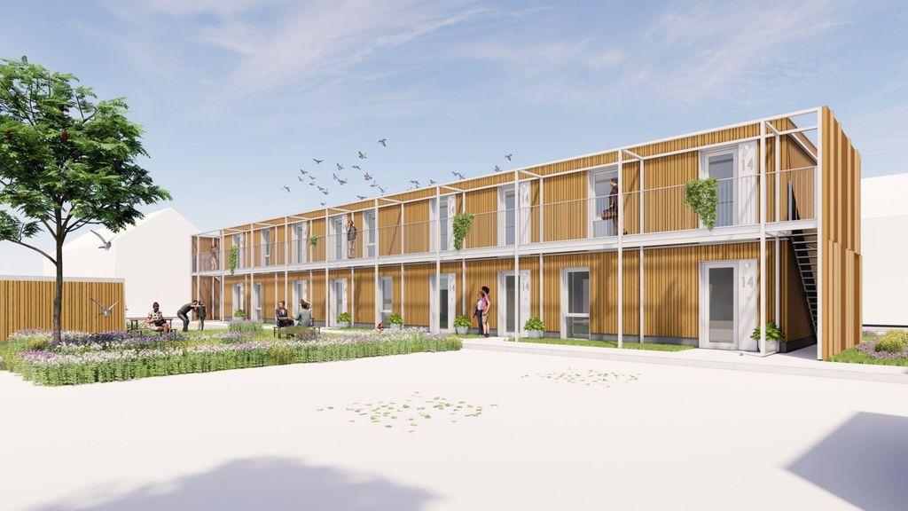 Flexibele woningen voor jongeren in Millingen