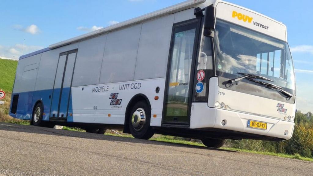 De GGD komt naar je toe met de Prikbus Regiotour