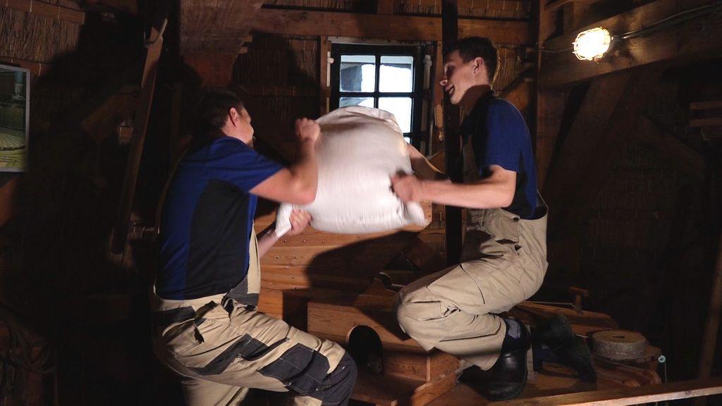 Ramon en Jurre zijn de jongste molenaars van Nederland