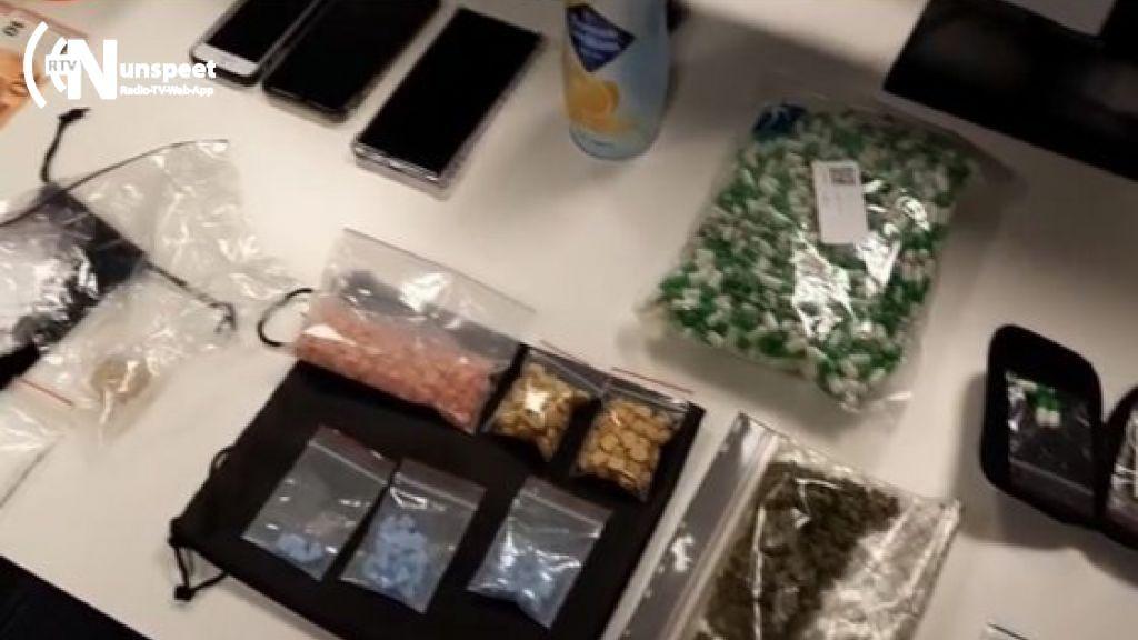 Man met gigantische 'drugsapotheek' aangehouden