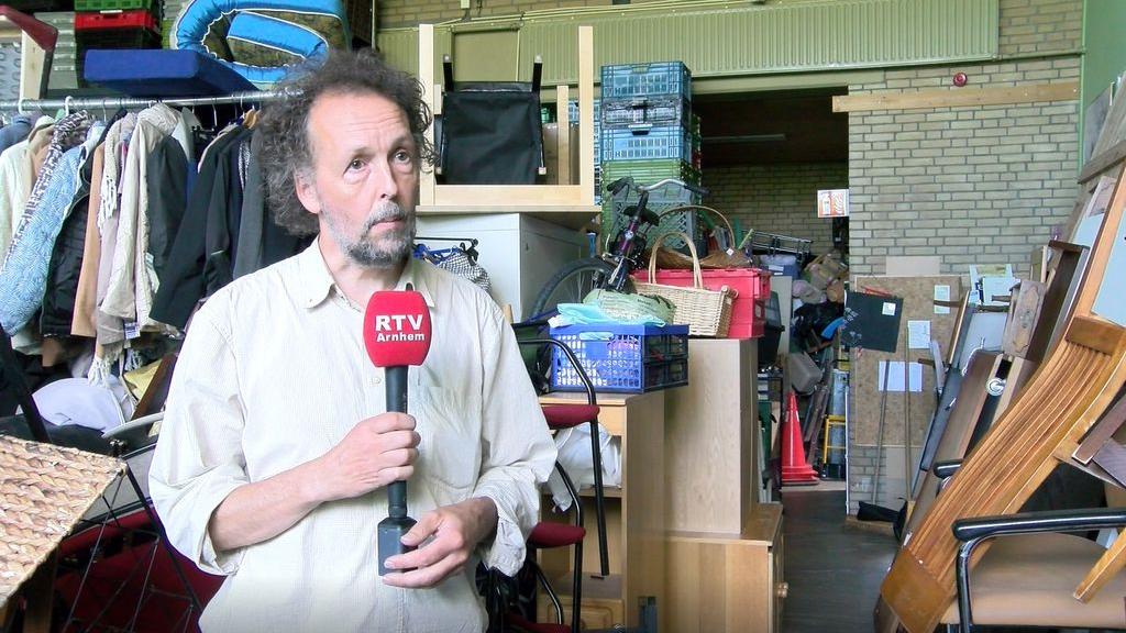 Syne Fonk, coördinator van Ecovrede Foto: RTV Arnhem