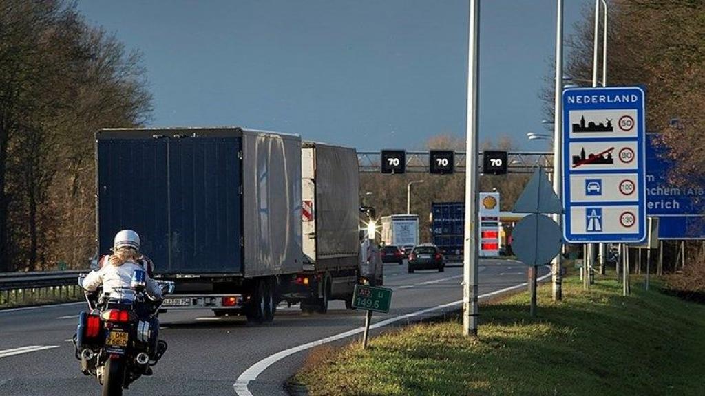 De grens van Duitsland met Nederland  Foto: Wikimedia commons