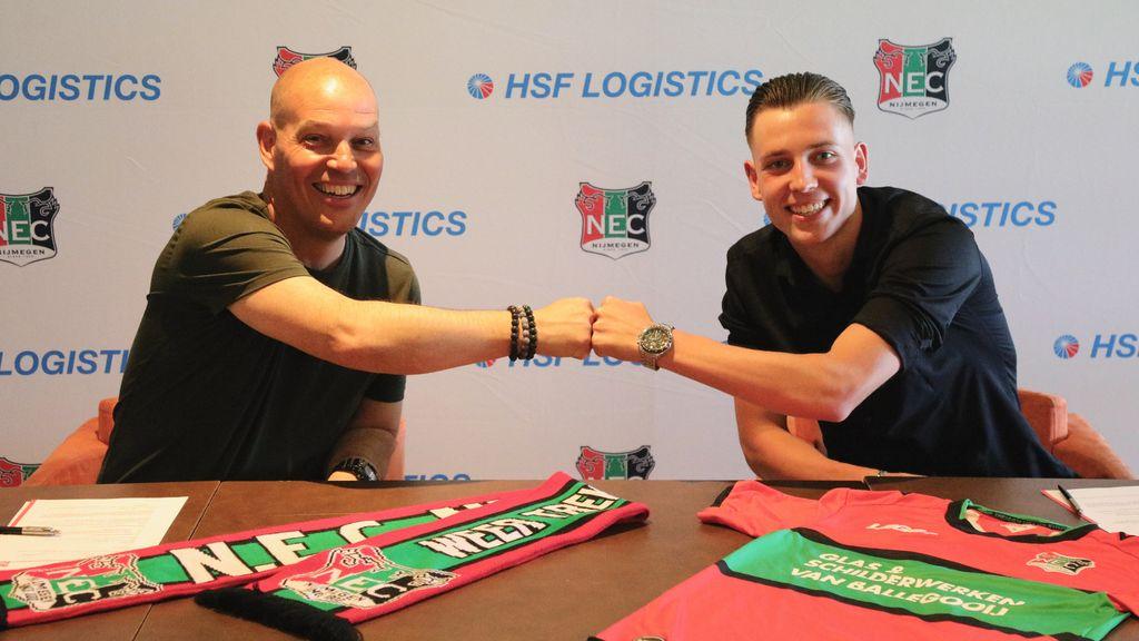 Jeugdspelers van NEC tekenen eerste profcontract