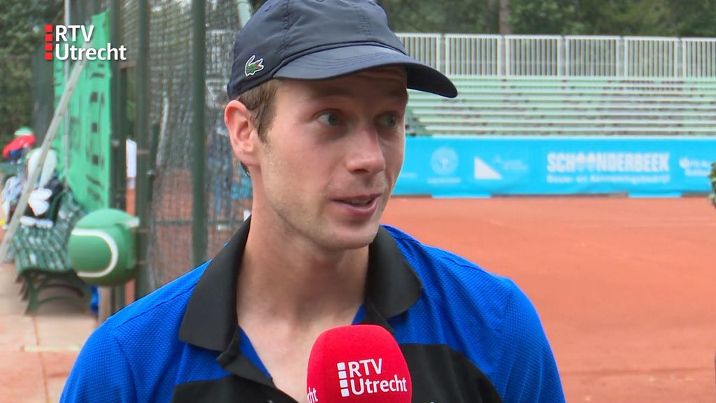 Van de Zandschulp naar kwartfinale Dutch Open in Amersfoort na zege op titelverdediger