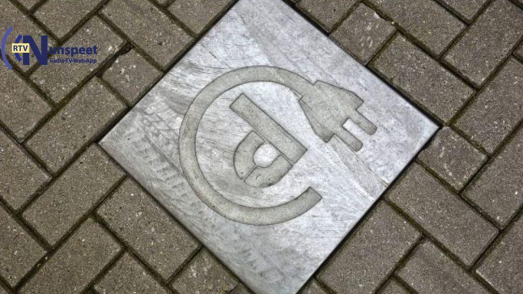 Nieuwe parkeerplaatsen voor opladen elektrische auto in Nunspeet